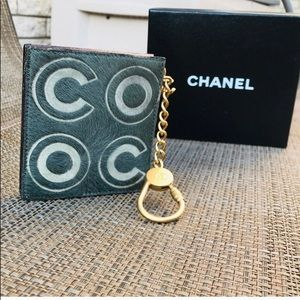 Auth. Chanel Ultra RARE Coco Pony Hair Coin Purse